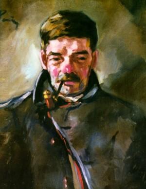 Старий з люлькою, 1941 р.