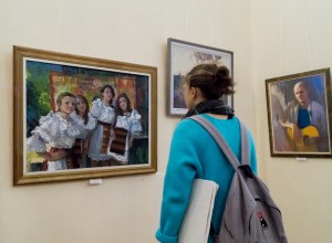 IT WAS OPENED EXPOSITION  ON THE OCCASION OF THE ARTIST'S DAY IN UZHHOROD