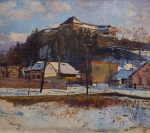 Бокшай Й. 'Ужгородський замок', 1960-ті
