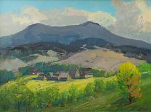 I. Bondarenko 'Pikui Mountain In Spring'.