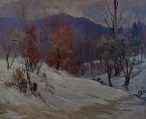 A. Boretskyi It's Getting Warm, 1960, oil on canvas, 94x115
