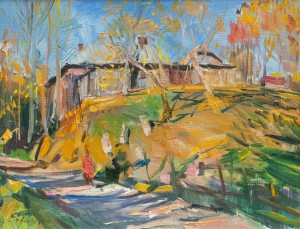 F. Erfan 'Road In The Village'