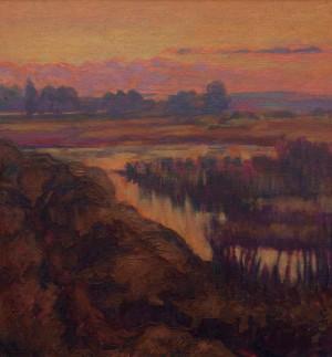 Гресько М. 'Вечір над озером', 2017