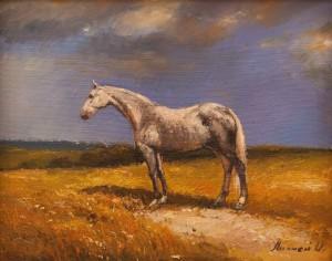 O. Lypchei 'Horse', 2017
