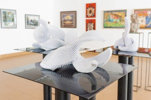 L. Ulybina Triptych 'Marine Motifs', 2018