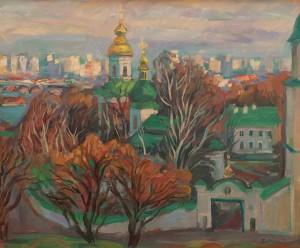 Вовчок В. 'Видубицький монастир', 2011