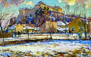 Ужгородський замок, 1974 р.