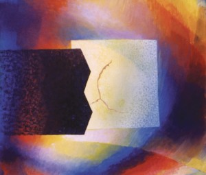 Чорна смуга над планетою, 2003, орг.о. 85х97,5