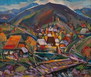 Багній М. 'Верховинське село'