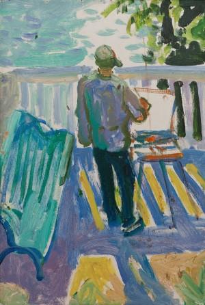 M. Hlushchenko 'On The Veranda'