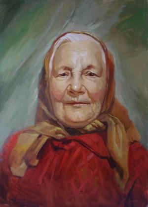 Бабуся 93 р., 2007, к.о., 50х40