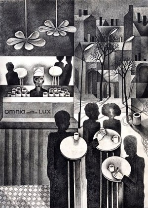N. Ponomarenko From the series 'Cafe Of Poisoned', 1975, mixed technique on paper, 30,5х42, (3).JPG