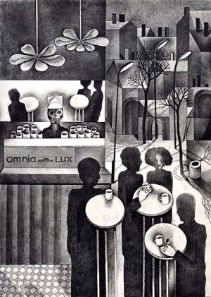 N. Ponomarenko From the series 'Cafe Of Poisoned', 1975, mixed technique on paper, 30,5х42, (3).JPG