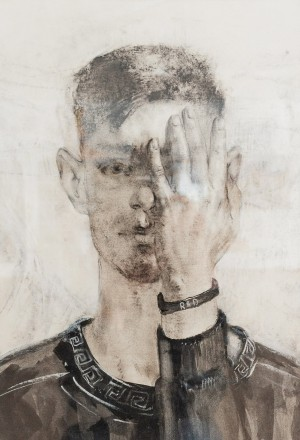 A. Toderiuk Self-portrait', 2011, mixed technique