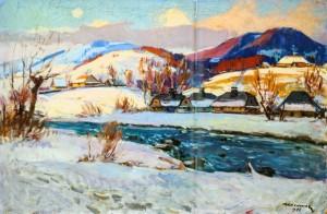 Ясиня взимку, 1966 р.