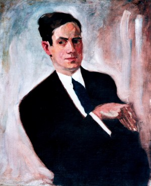 A. Erdeli Self-portrait', 1930 oil on canvas, 70x60