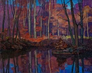 V. Habda 'A Sunny Autumn', 1982