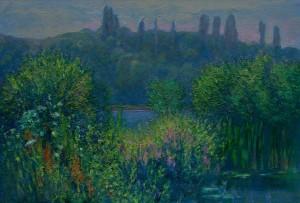 M. Hresko 'View Of Bozdosh Park', 2007