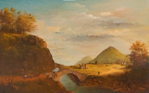 V. Parii English Landscape', oil on canvas, 65x90