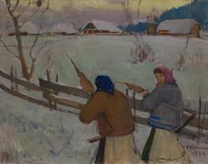 Шолес З.'На прядки', 1934