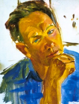 Портрет Шолтеса, роботи Коцки А. А., 1962 р.