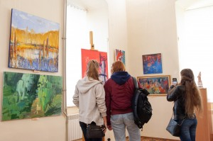 Exhibition dedicated to Artist's Day