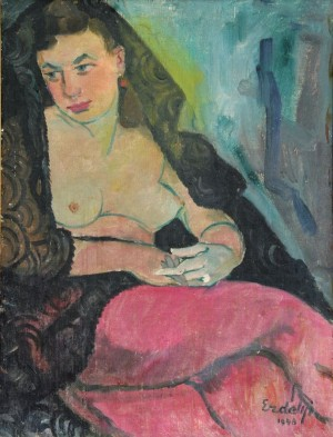 Portrait of the artist's wife, 1948