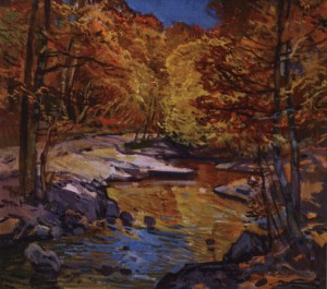 В лісі, 1976, п.о. 75х80