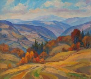 Y. Babynets 'Carpathian Autumn'