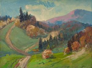 I. Bondarenko 'Autumn In Bilasovytsia Village'.