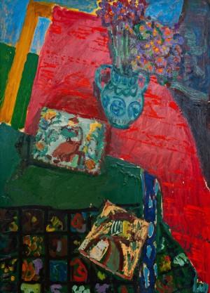 M. Hlushchenko 'Still Life', 1972