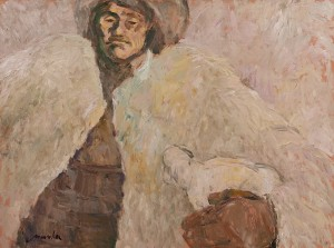 Z. Mychka Kind Shepherd', 2000, acrylic on masonite, 60x80