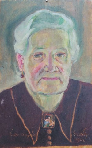 Portrait of mother, 1941