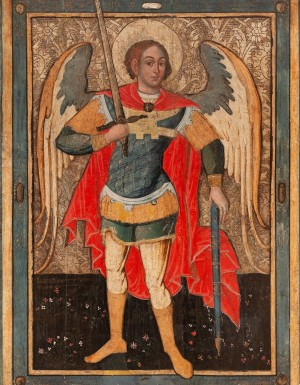 I. Brodlakovych-Vyshenskyi The Archangel Michael', 1667