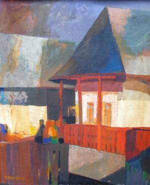 Біля будинку, 1989
