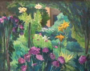 Час цвітіння, 2013, к.а. 80х100