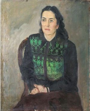 Portrait of T. Yablonska, 1951