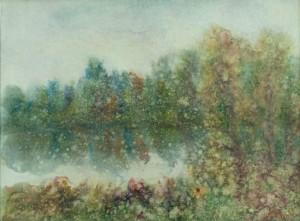 I. Bondarenko 'A Lake High In The Mountains'.