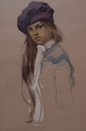 V. Kohutych 'Wife's Portrait'.