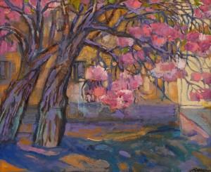 O. Kondratiuk 'Uzhhorod  Cherry Blossoms'