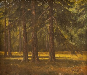 O. Lypchei 'Forest Shadows', 2001