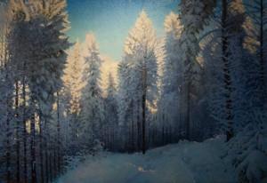 В Ужгороді відкрилася ювілейна виставка Віталія Слободського з нагоди 70-річчя митця
