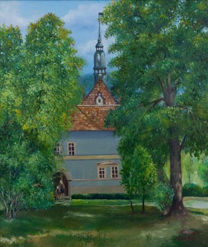 P. Oleksiiev-Martin The Schonborn Castle', 2016, oil on canvas, 50x60