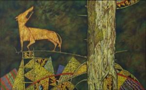 Самотній вовк, 1997, т.двп, левкас, жовткова емульсія