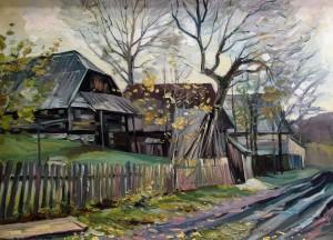 Сакалош А. 'Пізня осінь', 2012, п.о., 72х52