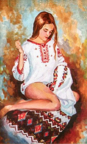 'Rushnyk Embroidering'