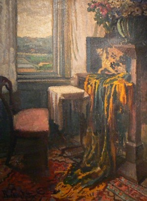 R. Boemm Interior', oil on canvas, 60x80