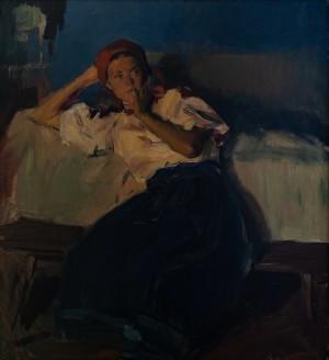 G. Gluck 'A Girl From Verkhovyna'