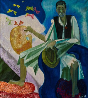Self-portrait In Hungarian Costume, 1997