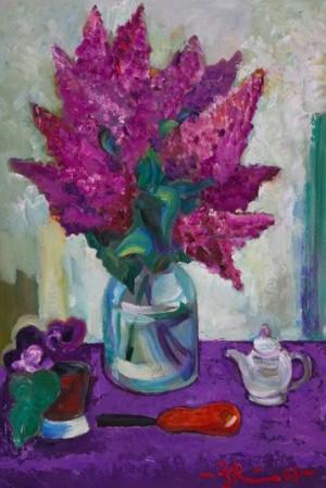 'Lilac', 2008, 84х59.5